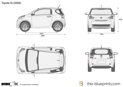 Toyota iq toy car engineering toyota iq malvernweather Images